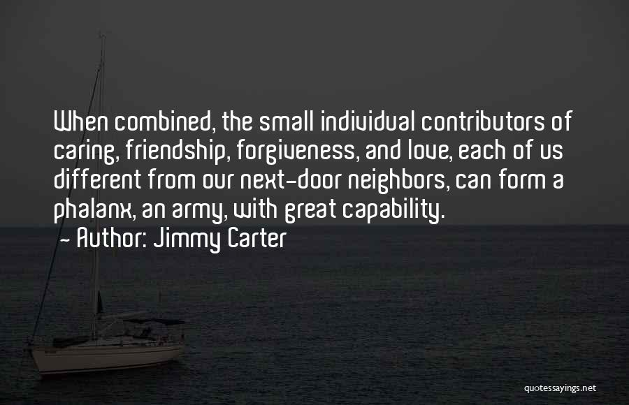 Phalanx Quotes By Jimmy Carter