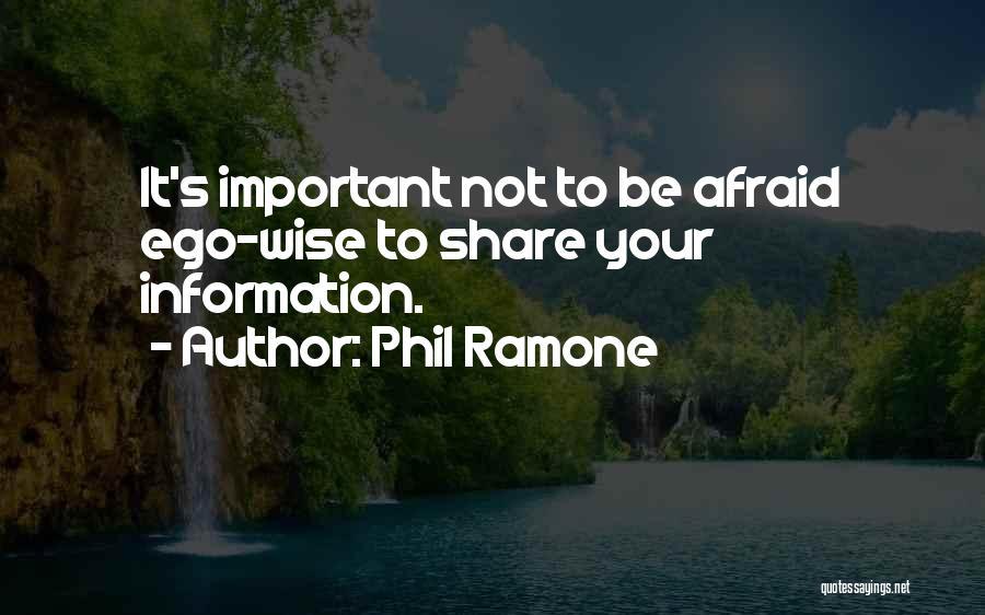 Phil Ramone Quotes 147875