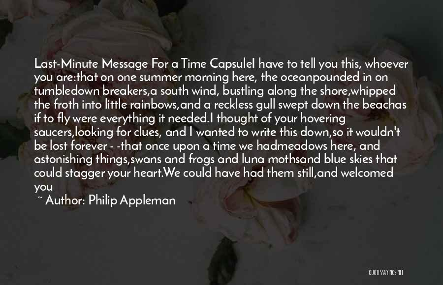 Philip Appleman Quotes 2073449