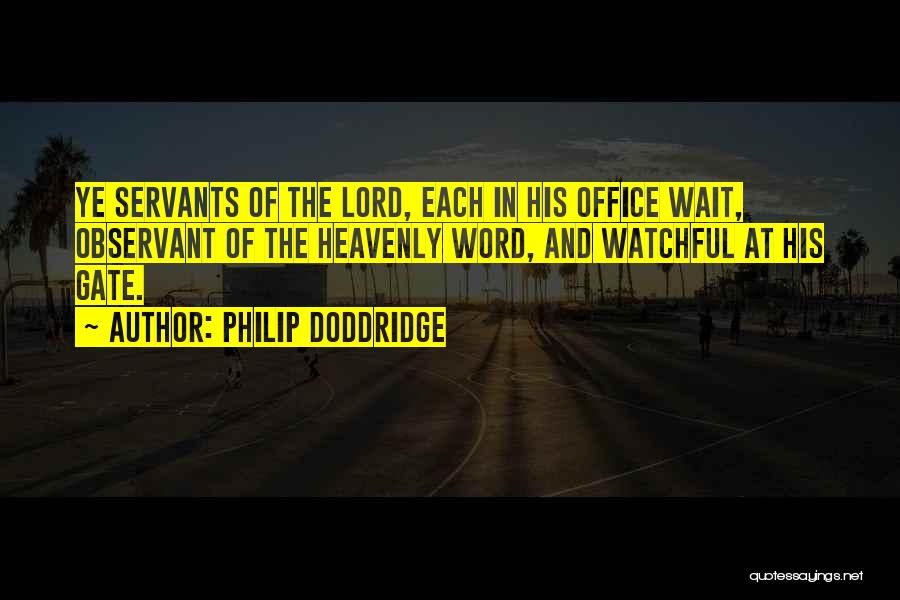 Philip Doddridge Quotes 1912104