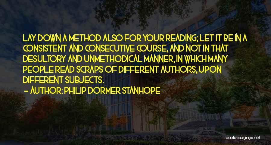 Philip Dormer Stanhope Quotes 1445645
