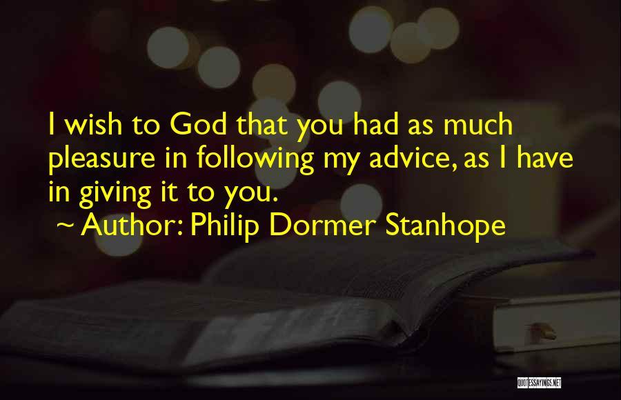 Philip Dormer Stanhope Quotes 962065