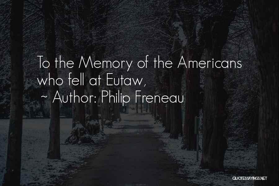 Philip Freneau Quotes 942330