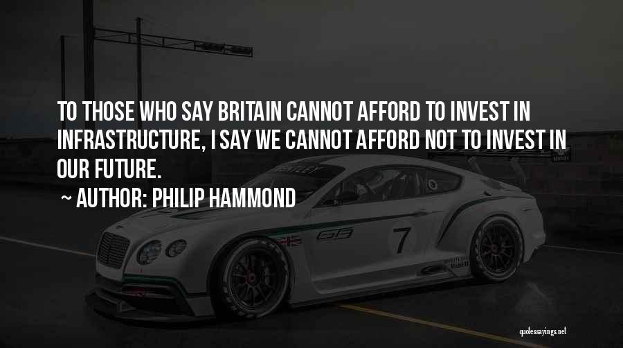 Philip Hammond Quotes 1181823