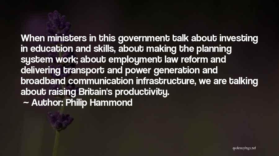 Philip Hammond Quotes 441987