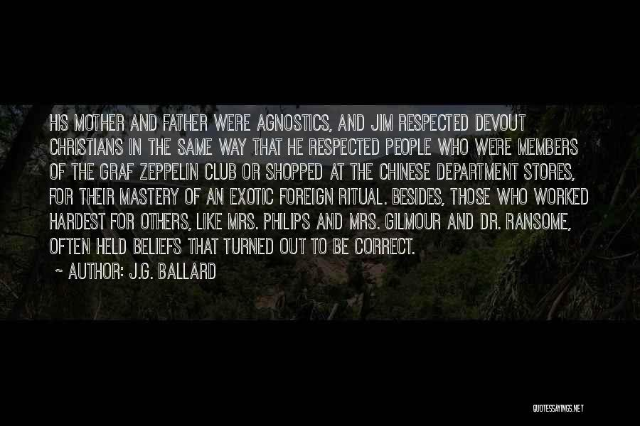 Philips Quotes By J.G. Ballard