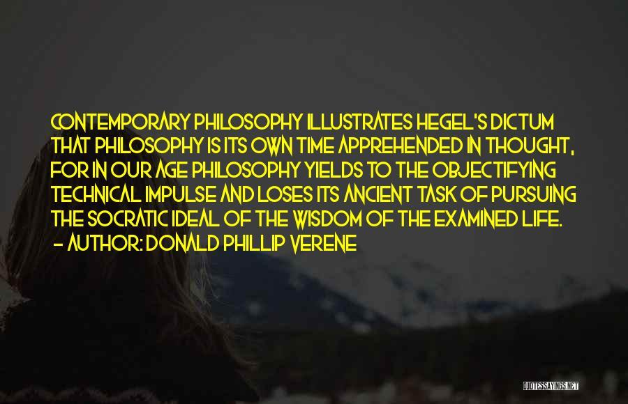 Phillip Quotes By Donald Phillip Verene