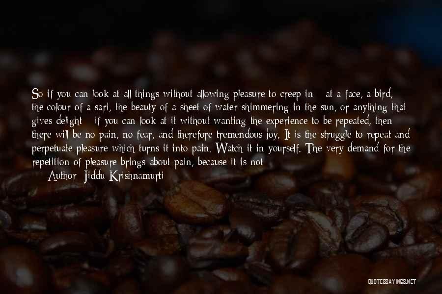 Philosophy About Beauty Quotes By Jiddu Krishnamurti