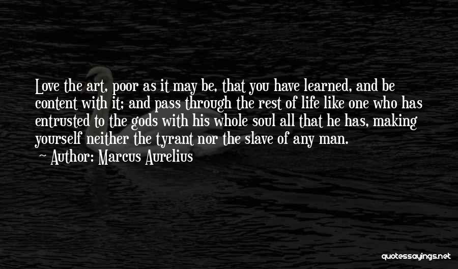 Philosophy And Love Quotes By Marcus Aurelius