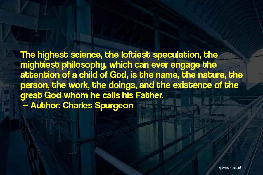Philosophy And Science Quotes By Charles Spurgeon