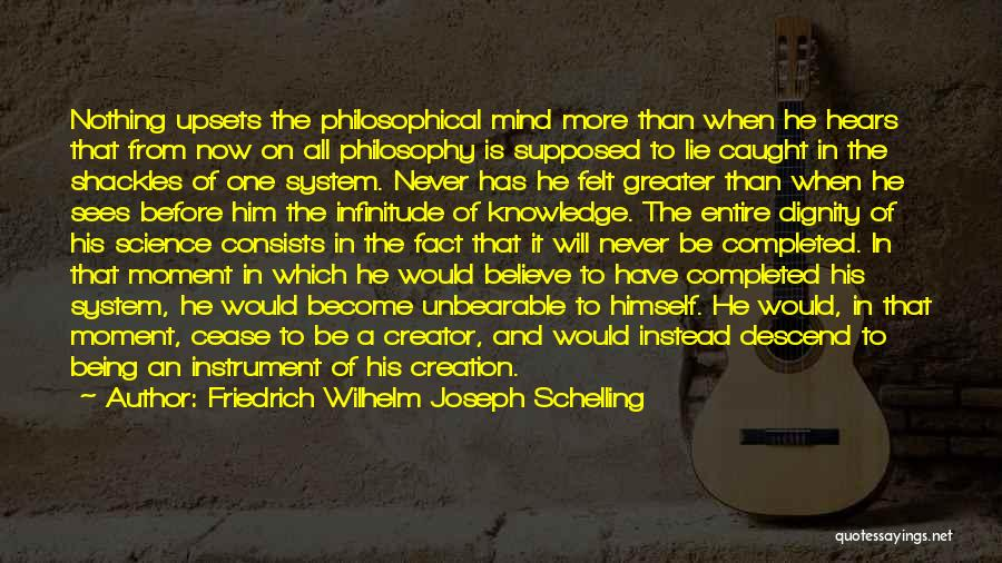 Philosophy And Science Quotes By Friedrich Wilhelm Joseph Schelling