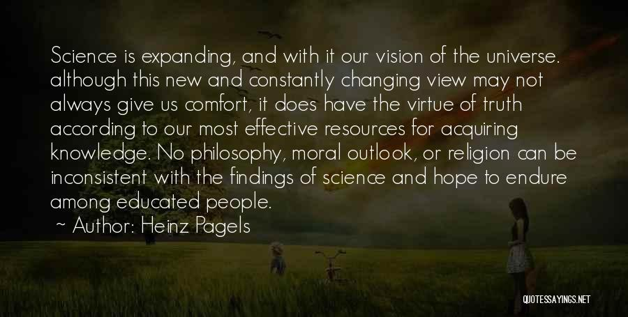 Philosophy And Science Quotes By Heinz Pagels