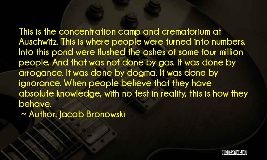 Philosophy And Science Quotes By Jacob Bronowski