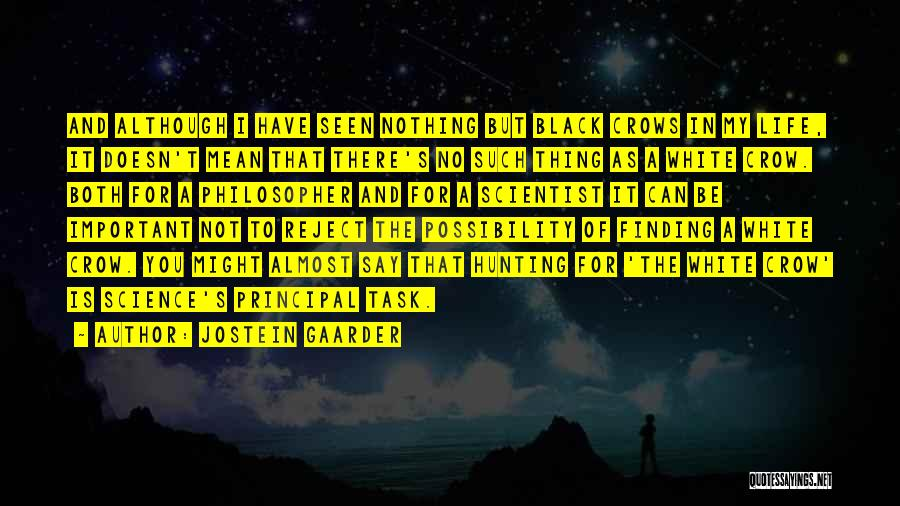 Philosophy And Science Quotes By Jostein Gaarder