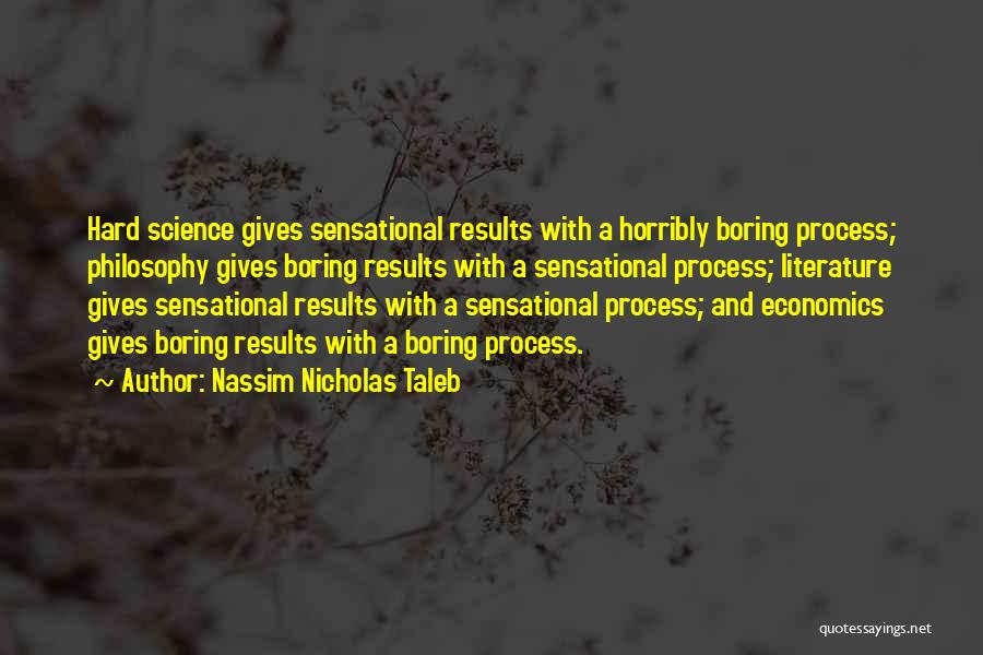Philosophy And Science Quotes By Nassim Nicholas Taleb