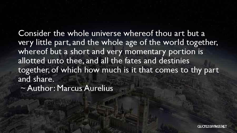 Philosophy In Life Short Quotes By Marcus Aurelius