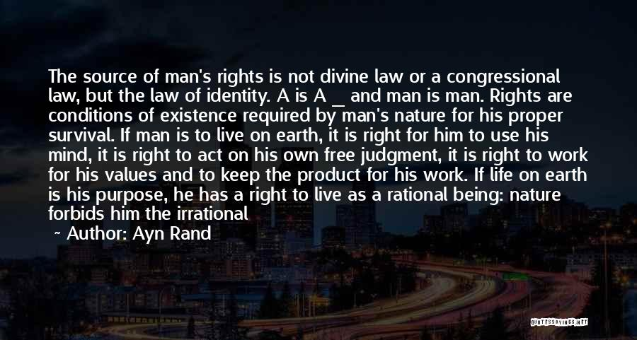 Philosophy Law Quotes By Ayn Rand