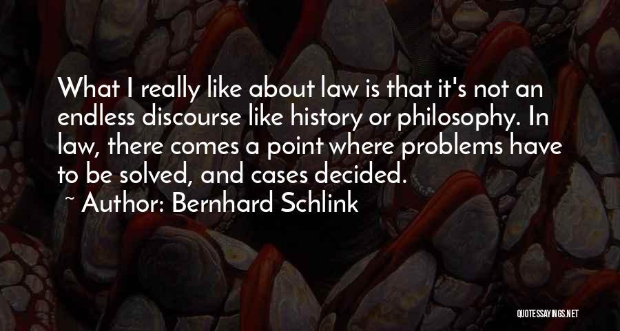 Philosophy Law Quotes By Bernhard Schlink