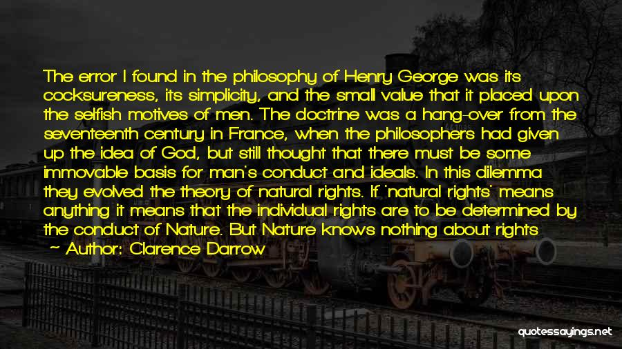 Philosophy Law Quotes By Clarence Darrow