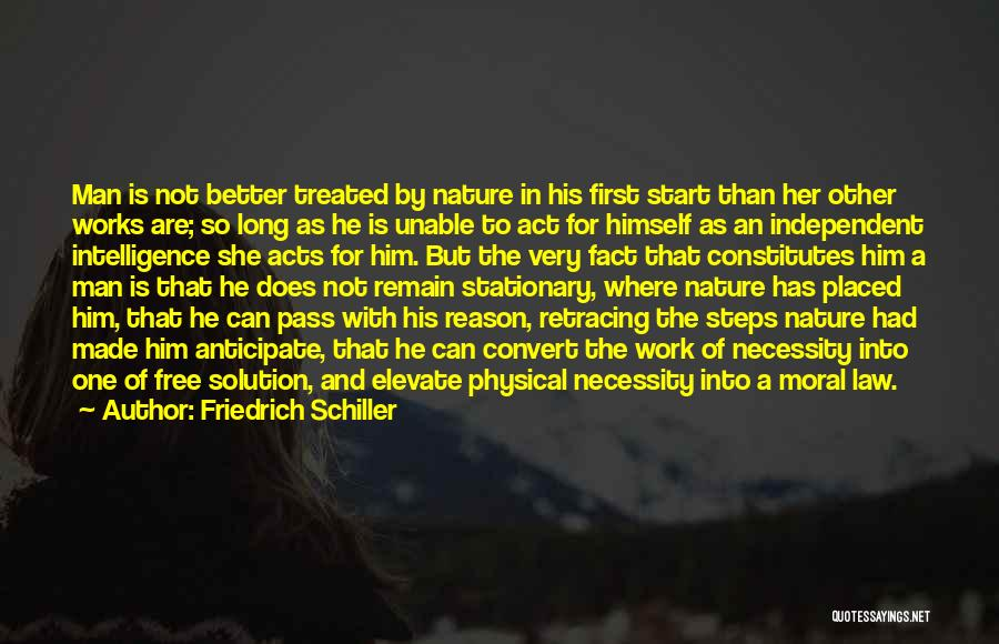 Philosophy Law Quotes By Friedrich Schiller