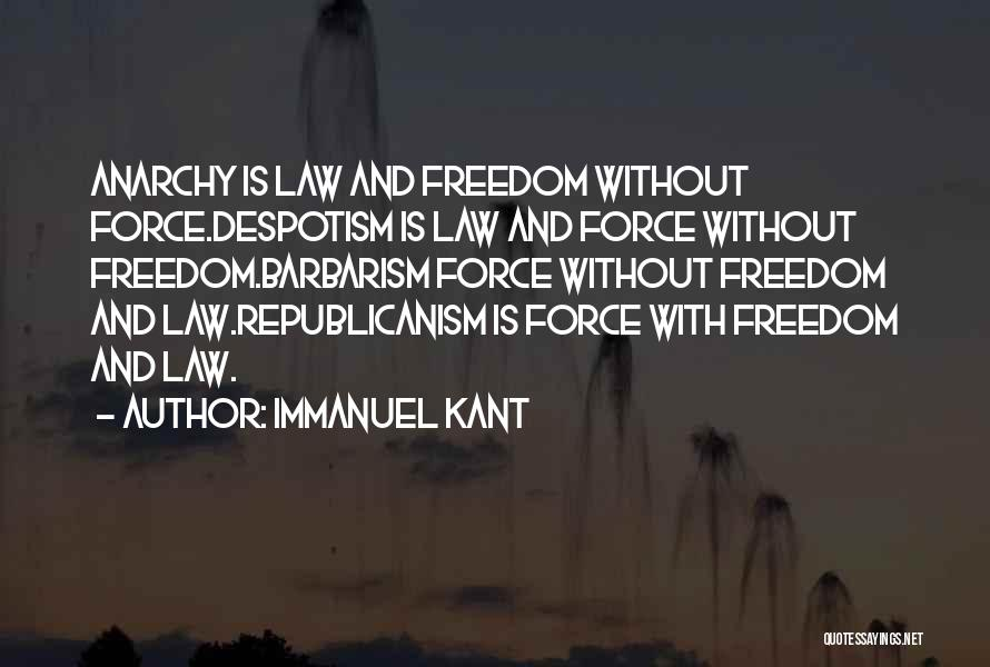 Philosophy Law Quotes By Immanuel Kant