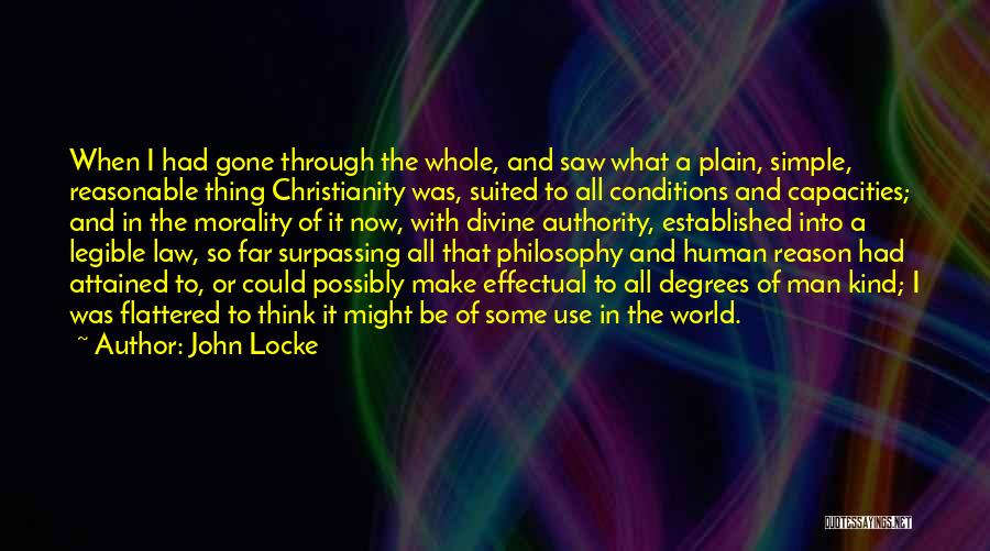 Philosophy Law Quotes By John Locke