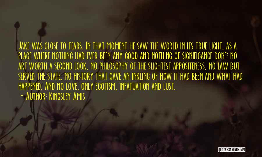 Philosophy Law Quotes By Kingsley Amis