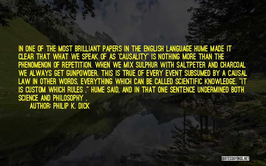 Philosophy Law Quotes By Philip K. Dick
