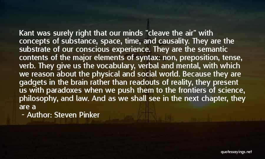 Philosophy Law Quotes By Steven Pinker