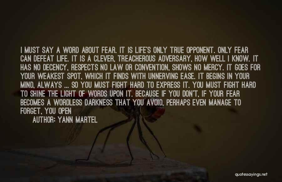 Philosophy Law Quotes By Yann Martel