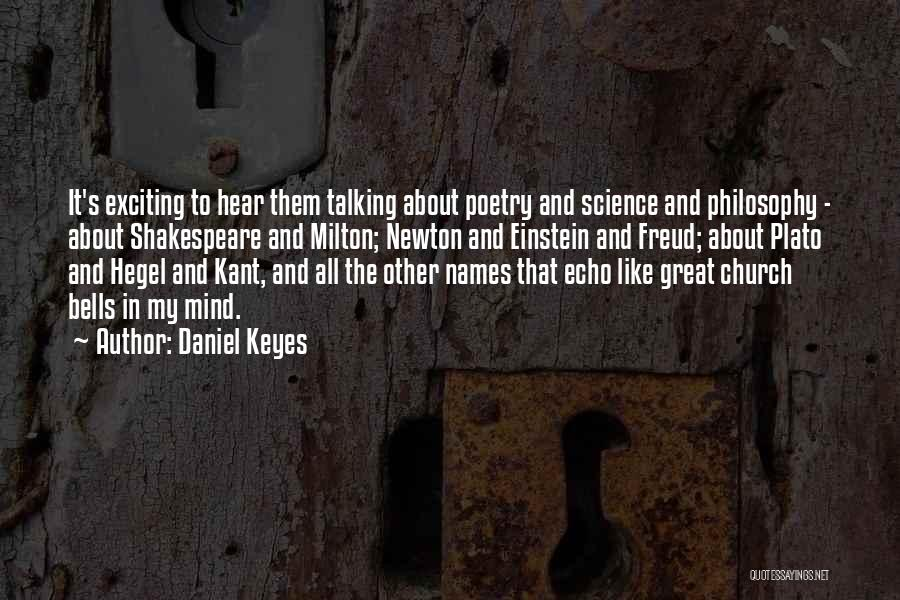 Philosophy Plato Quotes By Daniel Keyes