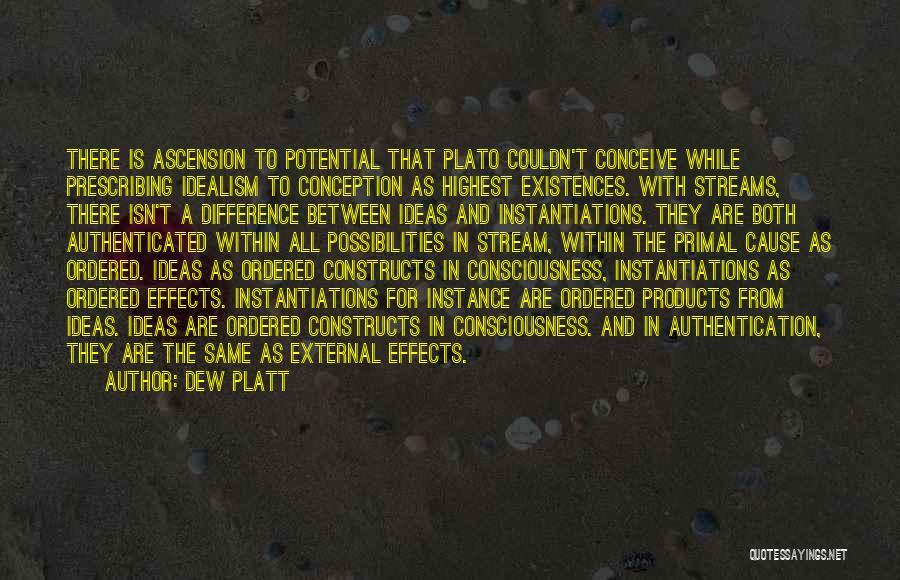 Philosophy Plato Quotes By Dew Platt