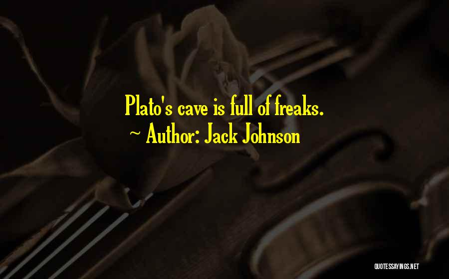 Philosophy Plato Quotes By Jack Johnson