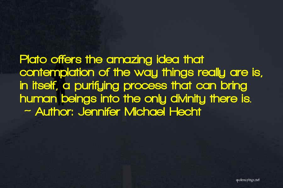 Philosophy Plato Quotes By Jennifer Michael Hecht