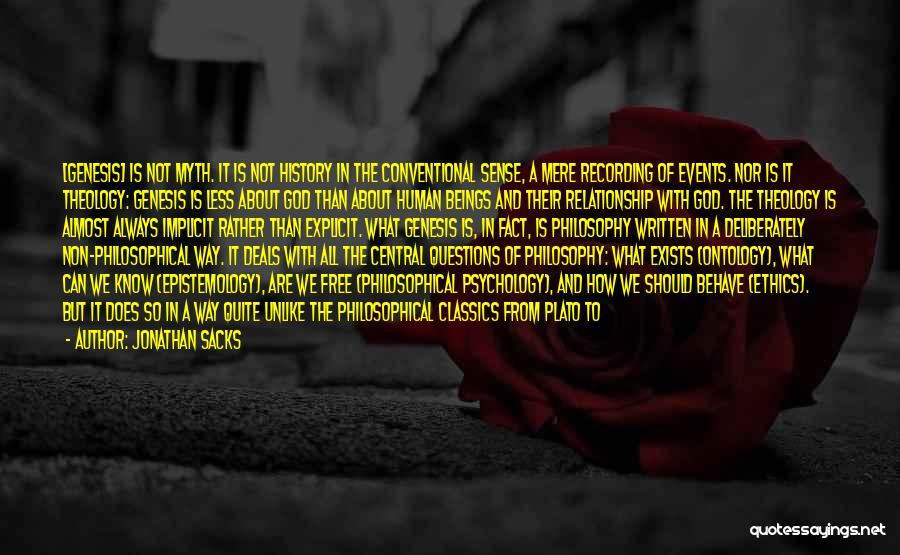 Philosophy Plato Quotes By Jonathan Sacks