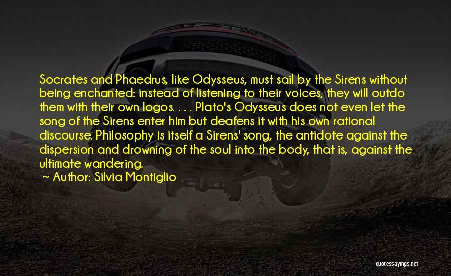 Philosophy Plato Quotes By Silvia Montiglio
