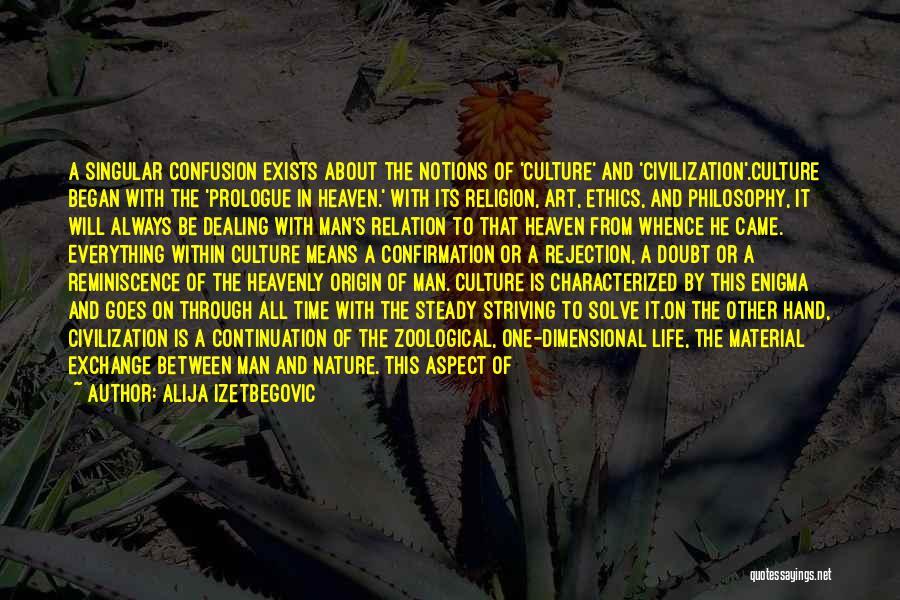 Philosophy Vs Religion Quotes By Alija Izetbegovic