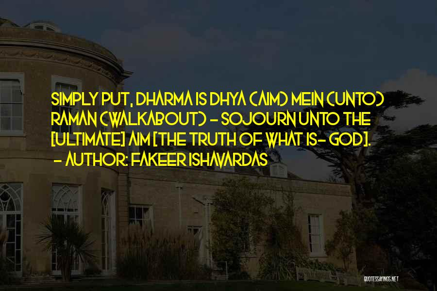 Philosophy Vs Religion Quotes By Fakeer Ishavardas