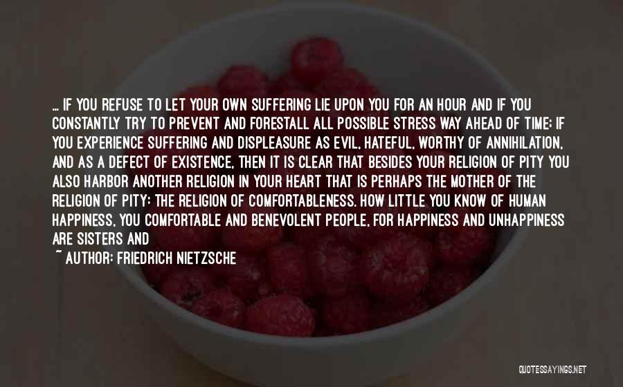 Philosophy Vs Religion Quotes By Friedrich Nietzsche