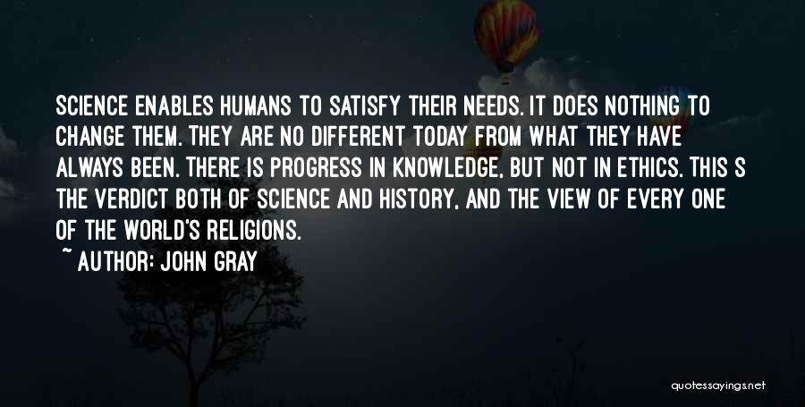 Philosophy Vs Religion Quotes By John Gray