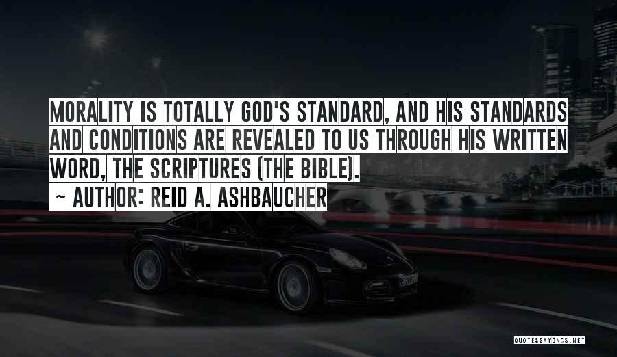 Philosophy Vs Religion Quotes By Reid A. Ashbaucher