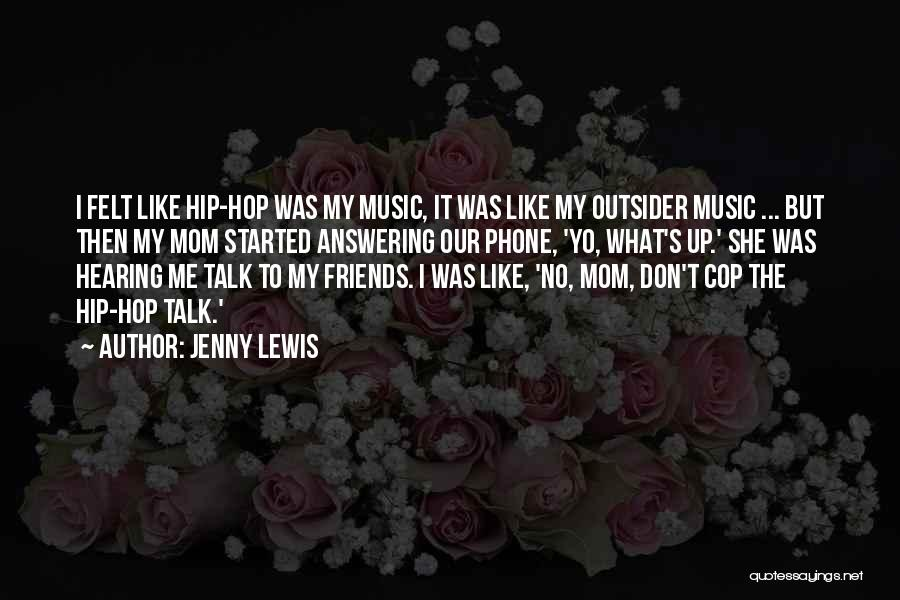 Phone Answering Quotes By Jenny Lewis