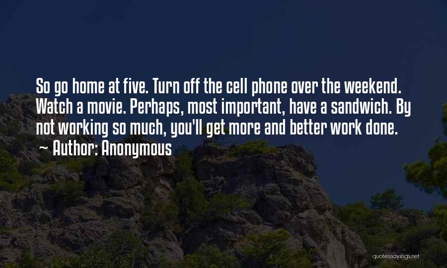 Phone Not Working Quotes By Anonymous
