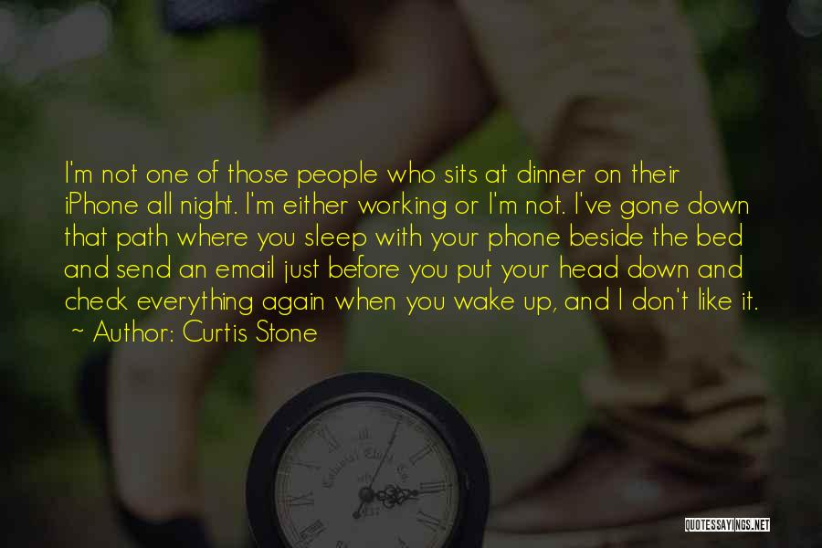 Phone Not Working Quotes By Curtis Stone
