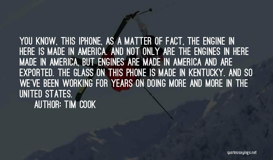 Phone Not Working Quotes By Tim Cook