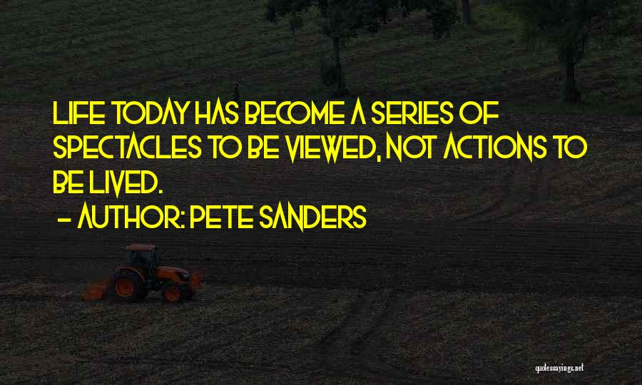 Phones Quotes By Pete Sanders