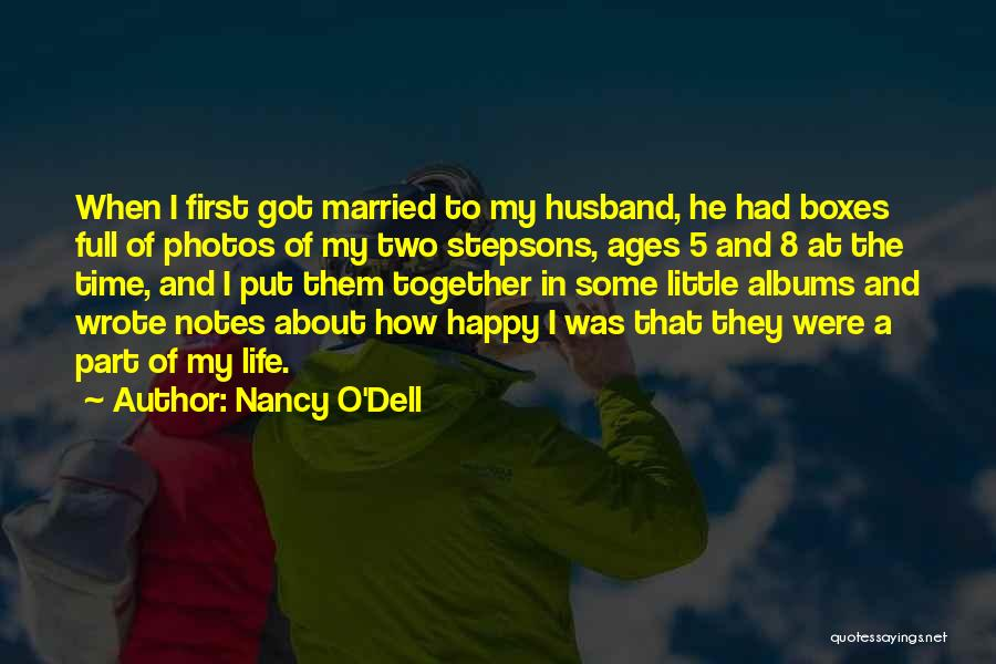 Photos And Life Quotes By Nancy O'Dell