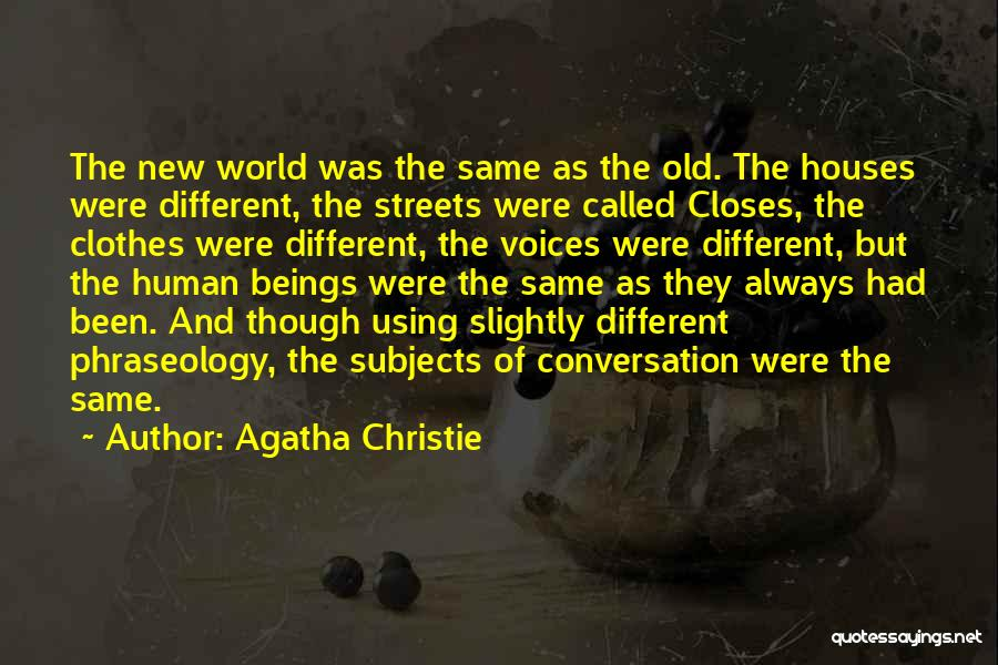 Phraseology Quotes By Agatha Christie