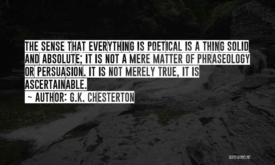 Phraseology Quotes By G.K. Chesterton