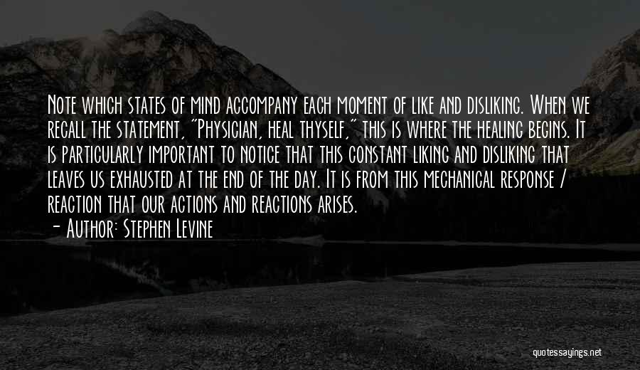 Physician Day Quotes By Stephen Levine